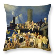 River Front Throw Pillow