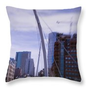 River Front Park Throw Pillow