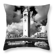 River Front Park Spokane Throw Pillow