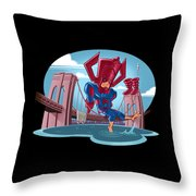 River, Ocean Throw Pillow