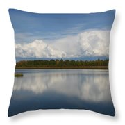 River Of Clouds Throw Pillow