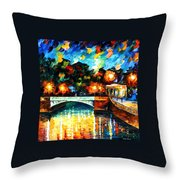 River Of Love Throw Pillow