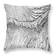 River Of Rock Throw Pillow