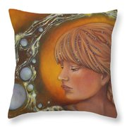 River Of Truth Throw Pillow