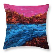 River Run Throw Pillow