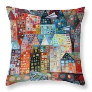 River Street Throw Pillow