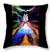 River To Eternity  Throw Pillow