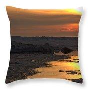 River To The Sun 2 Throw Pillow