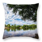 River View At Cartersville 1878ta Throw Pillow