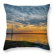 River Walk Throw Pillow