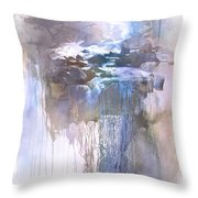 River Wild Throw Pillow