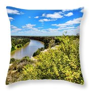 Riverbend Throw Pillow