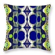 Riverdale Blue Green Throw Pillow