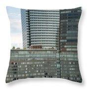 Riverhouse, One Rockefeller Park At 2 River Terrace In Battery Park City Throw Pillow