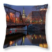 Riverplace Minneapolis Little Europe Throw Pillow