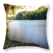 Rivers Edge 2 Throw Pillow