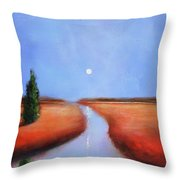 Rivers End Throw Pillow