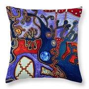 Rivers Of Arcturian Emination Throw Pillow