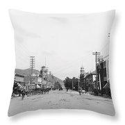 Riverside California C. 1900 Throw Pillow