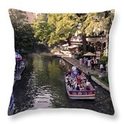 Riverwalk IIi Throw Pillow