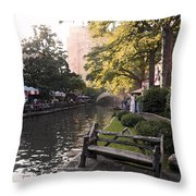 Riverwalk Iv Throw Pillow