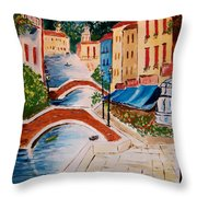 Riverwalk Throw Pillow