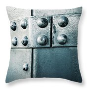 Riveted Pieces Of Iron Throw Pillow