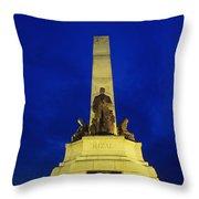 Rizal Monument Throw Pillow