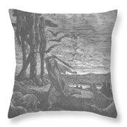 Rizpah Kindness Toward The Dead Throw Pillow