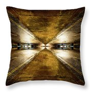 Road By Night Throw Pillow