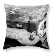 Road Hard Throw Pillow
