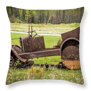 Road Side Art II Throw Pillow