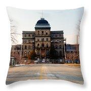 Road To Greystone  Throw Pillow