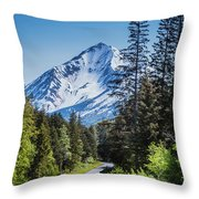Road To Hope Throw Pillow