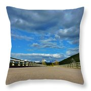 Road To Majesty  Throw Pillow