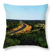 Road To Nowhere Throw Pillow