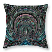 Road To The Oracle Throw Pillow