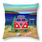 Road Trip No. 1 Throw Pillow