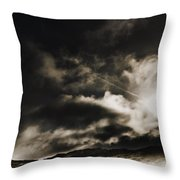 Roads Of Atmosphere  Throw Pillow