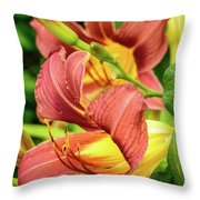 Roadside Lily Throw Pillow