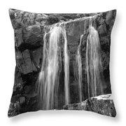 Roadside Waterfall - Ireland Throw Pillow by Mike McGlothlen