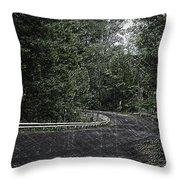 Roadway Fingers Lakes New York Area Pa 02 Throw Pillow