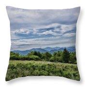 Roan Mountain 1 Throw Pillow