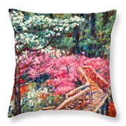 Roanoke Beauty Throw Pillow