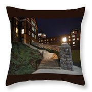 Roanoke Steps Throw Pillow