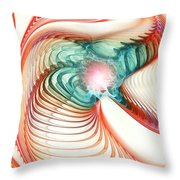 Roar Of A Dragon Throw Pillow