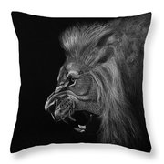 Roar Throw Pillow