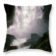Roaring Thunder Throw Pillow