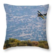 Rob Caster In Miss Diane 5x7 Aspect, Friday Morning Throw Pillow