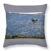 Rob Caster In Miss Diane, Friday Morning 16x9 Aspect Throw Pillow